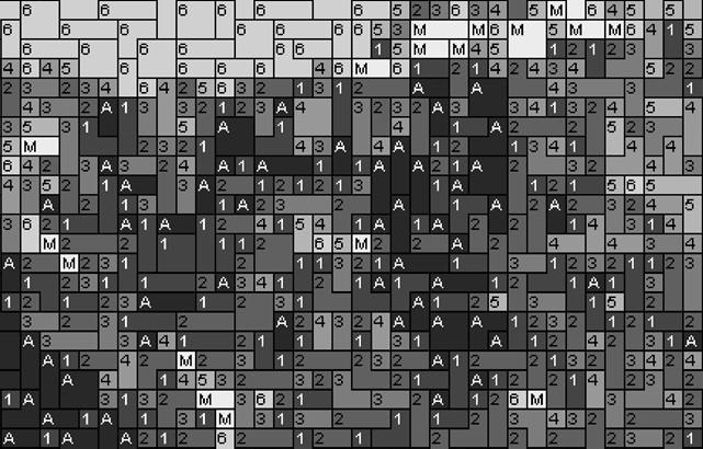 Vorlage für Ministeck Alberta 80x60cm schwarz/weiß per eMail