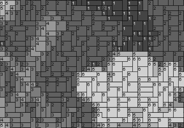 Vorlage für Ministeck Eule 60x80cm schwarz/weiß per eMail