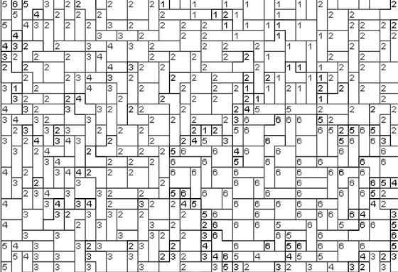 Vorlage für Ministeck Eule 80x60cm schwarz/weiß als Entwurfdruck