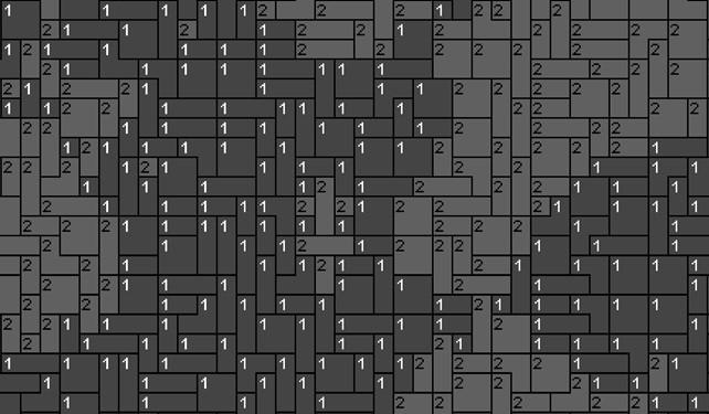 Vorlage für Ministeck Löwin 80x60cm schwarz/weiß als Volldruck